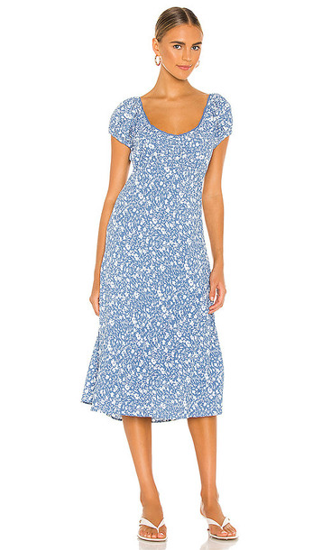 ASTR the Label Caprice Dress in Blue