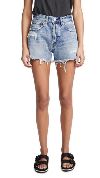 MOUSSY VINTAGE Chester Shorts in blue
