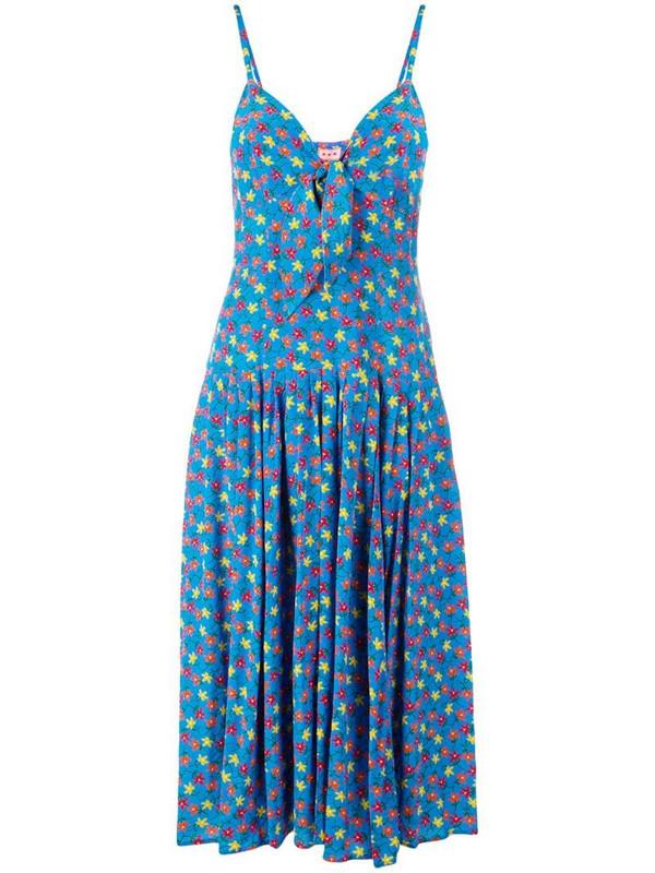 Lhd floral print dress in blue