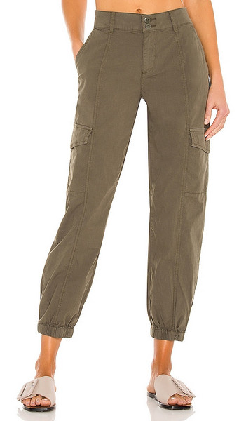 Sanctuary Rebel Pant in Army in green