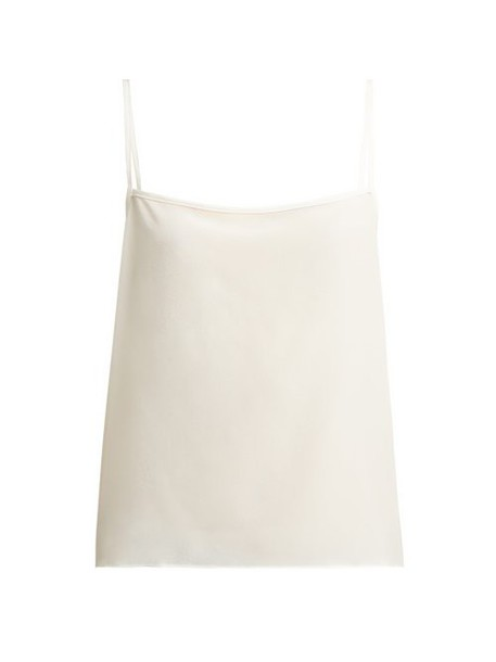 Raey - Easy Silk Cami Top - Womens - Ivory