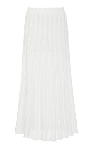Alexis Zea Midi Skirt Size: XS in white