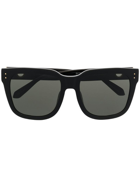 Linda Farrow Freya oversized frame sunglasses in black