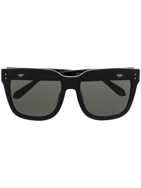 Linda Farrow Freya oversized frame sunglasses in black