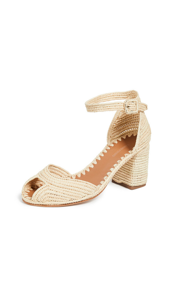 Carrie Forbes Laila Sandals in natural
