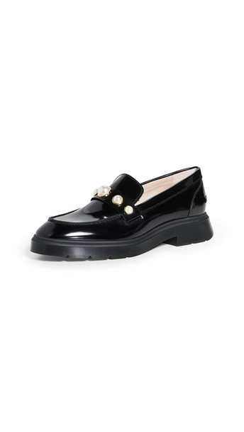 Stuart Weitzman Suki Loafers in black