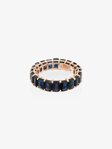 Shay 18K rose gold Eternity sapphire ring