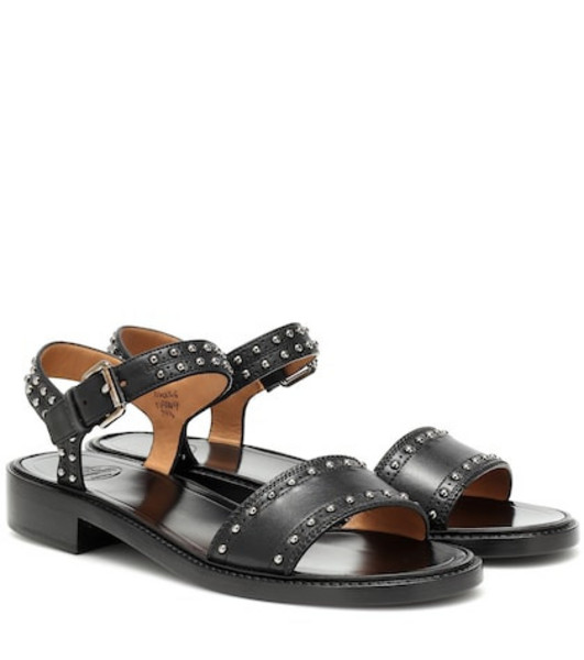 Church's Studded leather sandals in black