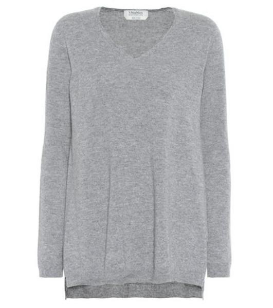 S Max Mara Gebe cashmere sweater in grey