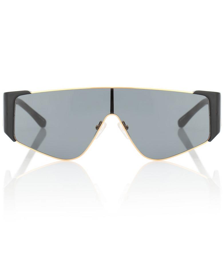 The Attico x Linda Farrow Carlijn sunglasses in black