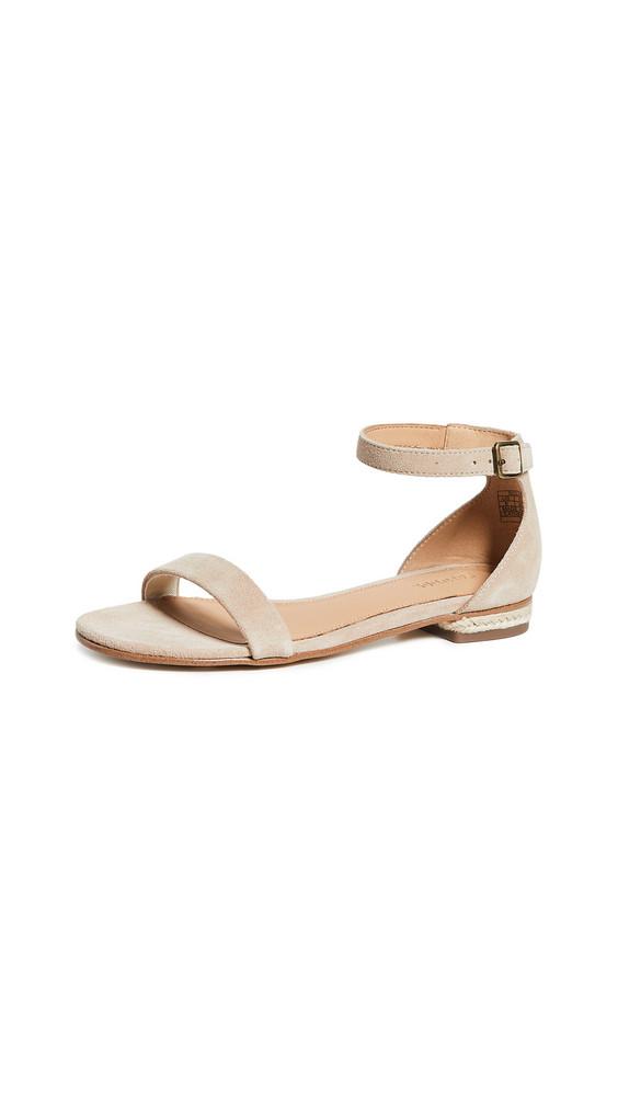 Soludos Capri Ankle Strap Sandals in blush