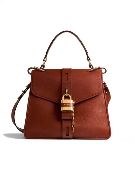 Chloé Chloé Leather Shoulder Bag/gold Closure