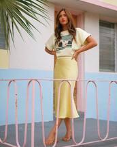 skirt,top,midi skirt,rocky barnes,instagram,blogger,summer outfits