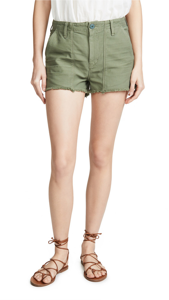Citizens of Humanity Meghan Shorts in green