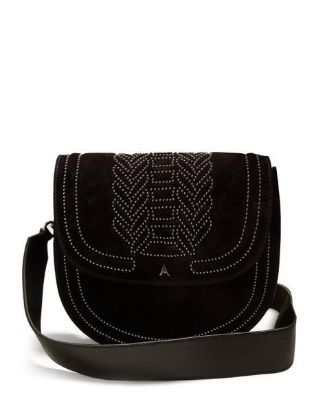 Altuzarra - Ghianda Stud Embellished Leather Bag - Womens - Black