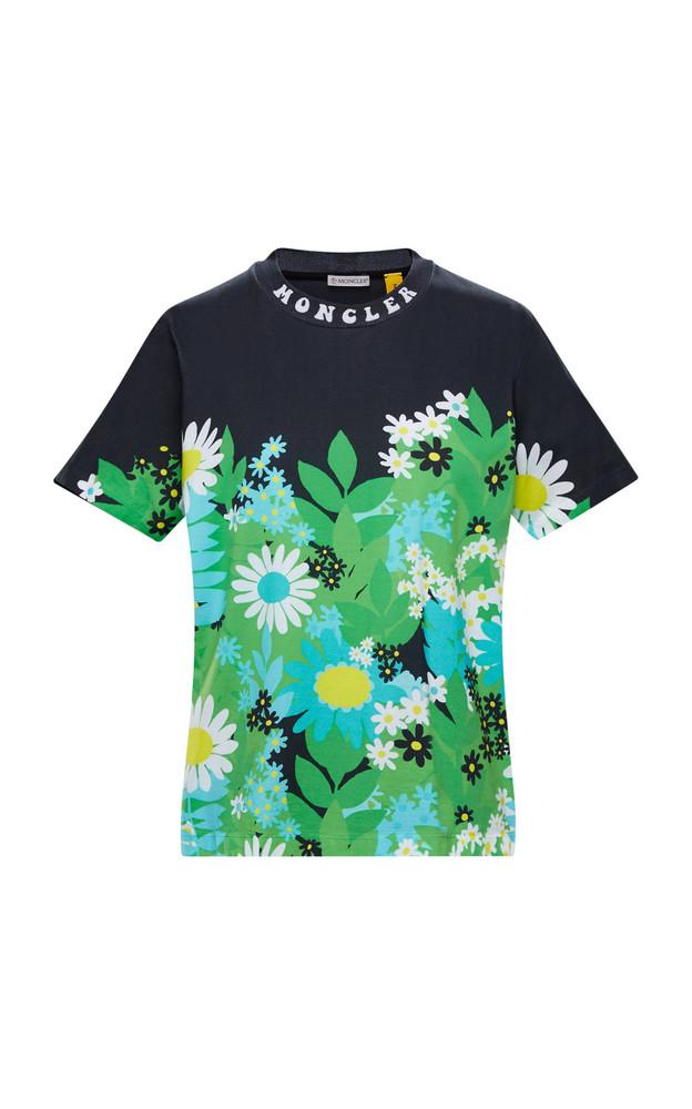 Moncler Genius 8 Moncler Richard Quinn Floral Cotton T-Shirt in multi