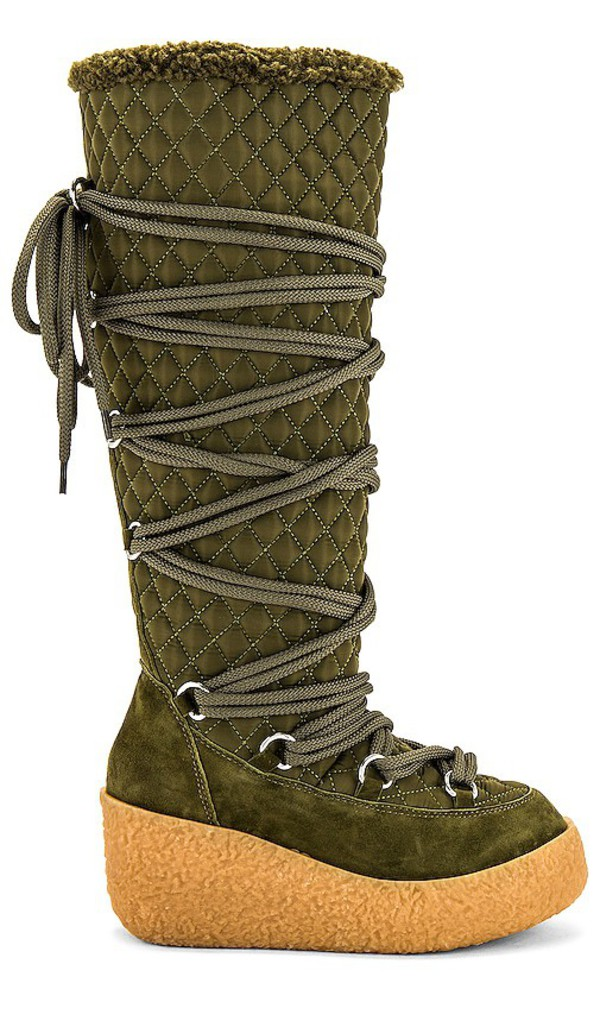 Jeffrey Campbell Camphor Boot in Army in khaki