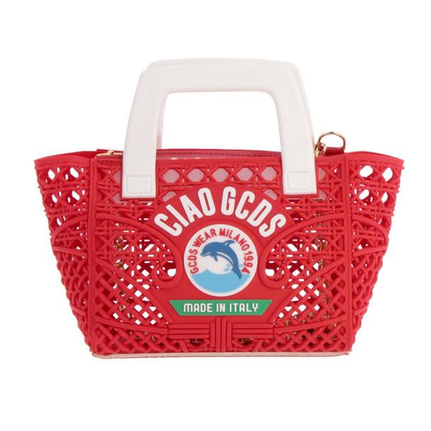 Gcds Handbag Shoulder Bag Women Gcds in red