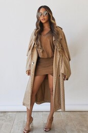 coat,beyonce,celebrity,moschino,mini dress,dress,sandals,spring outfits