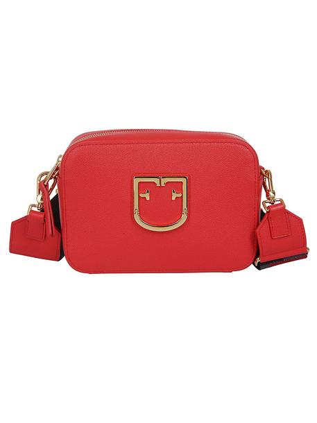 Furla Brava Camera Bag in red