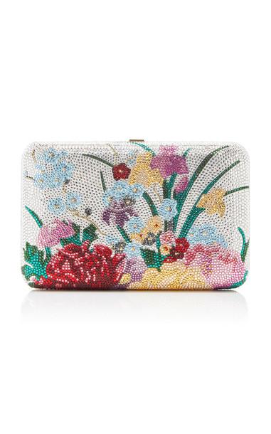 Judith Leiber Couture Ikebana Clutch in multi