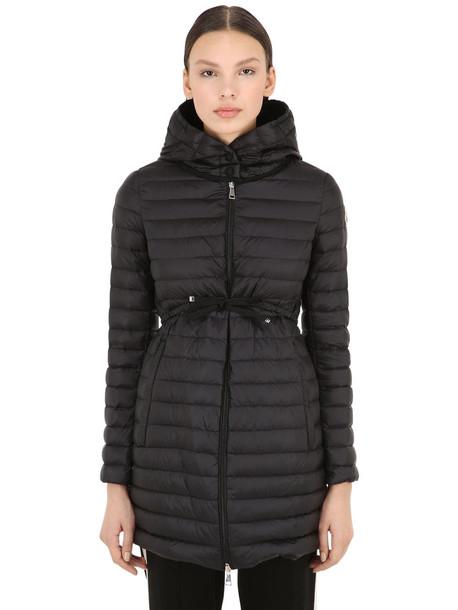 MONCLER Barbel Nylon Down Jacket in black