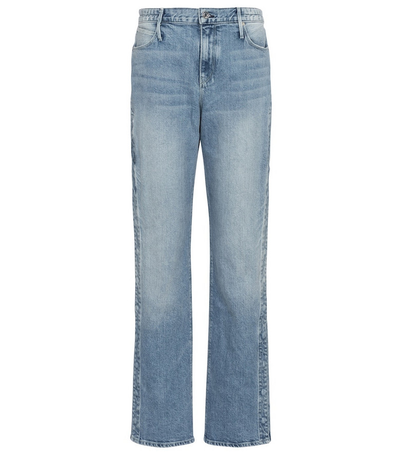 RtA Michael high-rise straight jeans in blue
