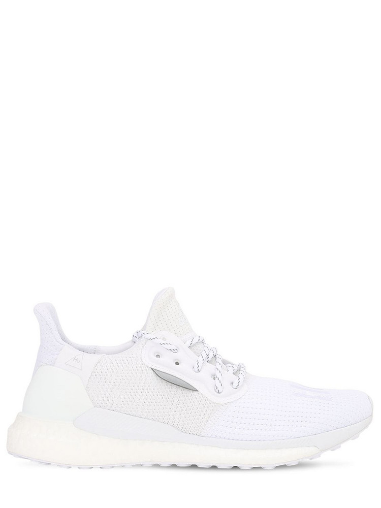 ADIDAS BY PHARRELL WILLIAMS Solar Hu Boost Sneakers in white