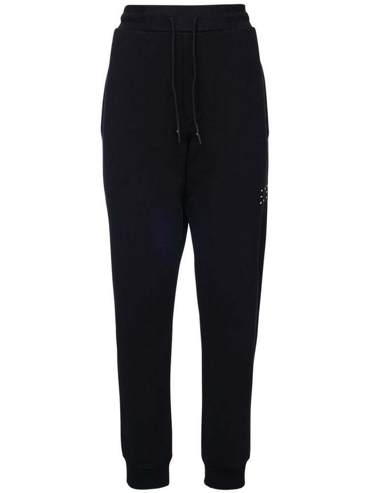MCQ Logo Detail Cotton Sweatpants in black