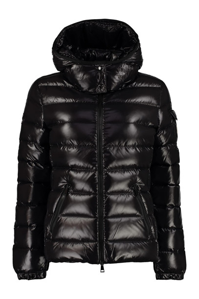 Moncler Bady Hooded Quilted Down Jacket in black