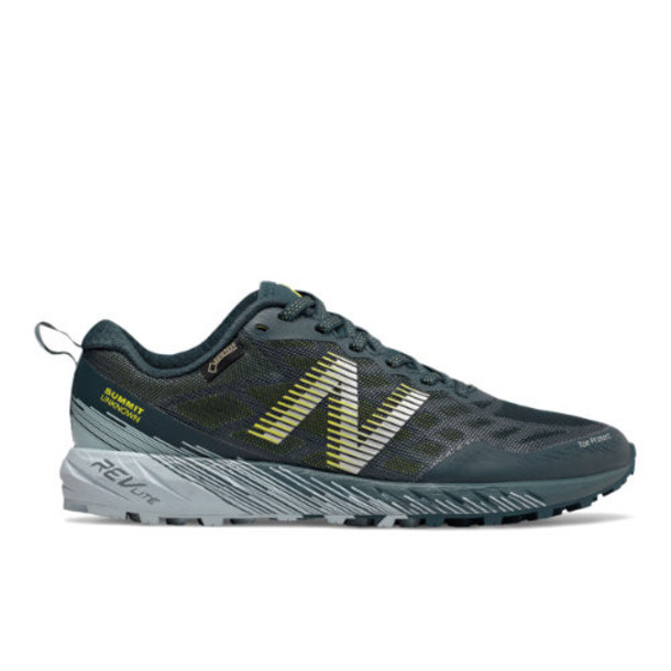New Balance Summit Unknown GTX Women's US Site Exclusions Shoes - Green/Blue (WTUNKNGT)