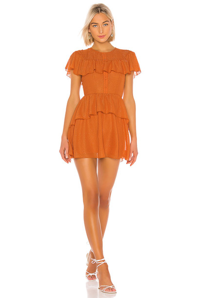 House of Harlow 1960 X REVOLVE Clint Dress in orange