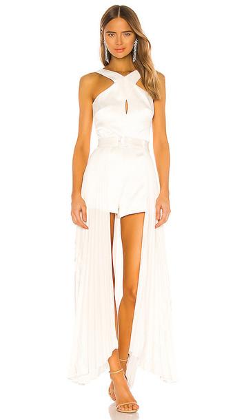 Alexis Ambra Romper in White