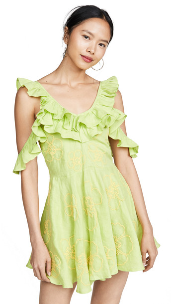 All Things Mochi Nadine Dress in green