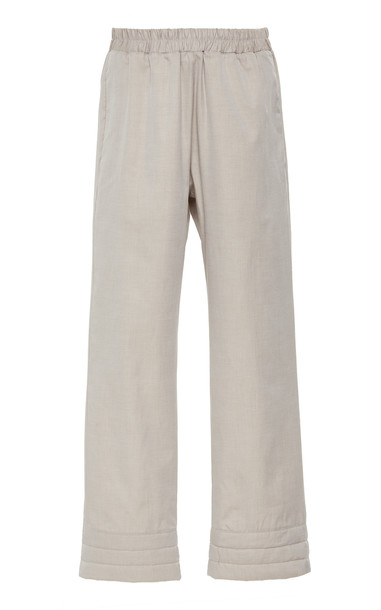 Deitas Vero Cotton Blend Trousers in grey