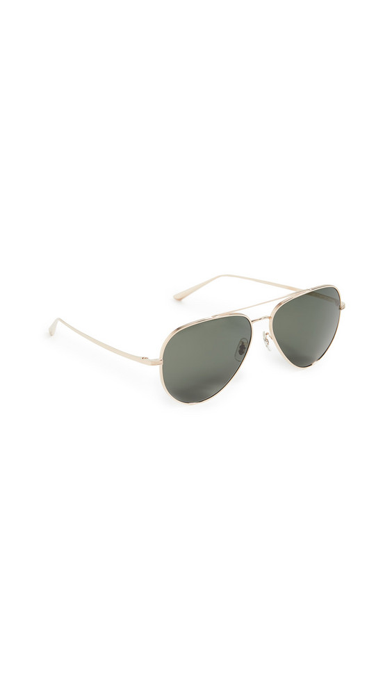 Oliver Peoples The Row Casse Sunglasses in gold