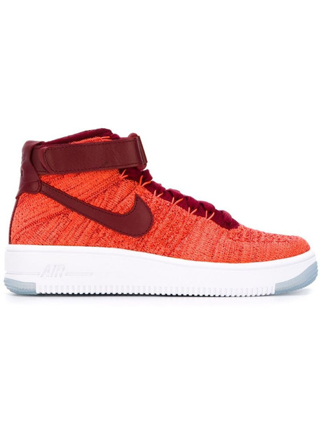 Nike Air Force 1 Ultra Flyknit sneakers in red