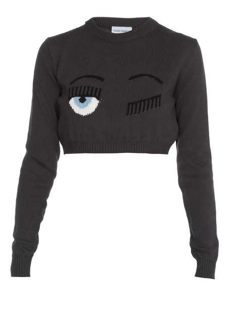 Chiara Ferragni Flirting Sweater in anthracite