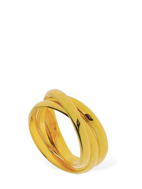 SOPHIE BUHAI Sterling Silver Trio Ring in gold