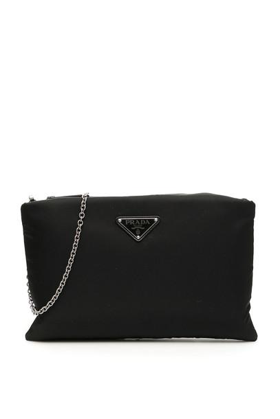 Prada Nylon Pouch in black