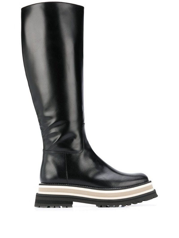 Paloma Barceló Piura 60mm leather boots in black