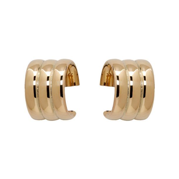 Laura Lombardi Gold Mini Grazia Earrings