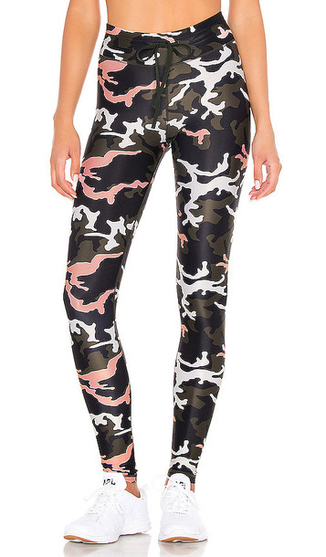 THE UPSIDE Camo 54 Yoga Pant in Black