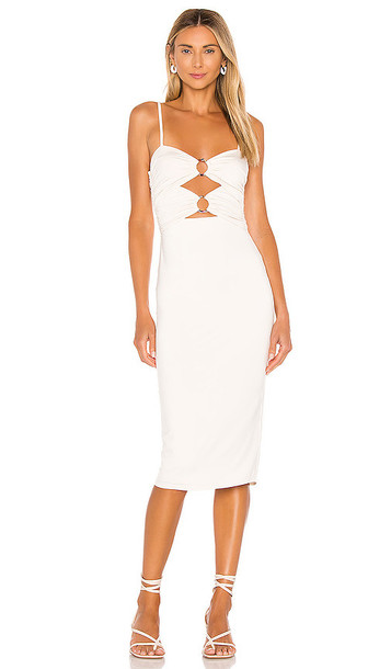 House of Harlow 1960 x REVOLVE Siobhan Midi Dress in White