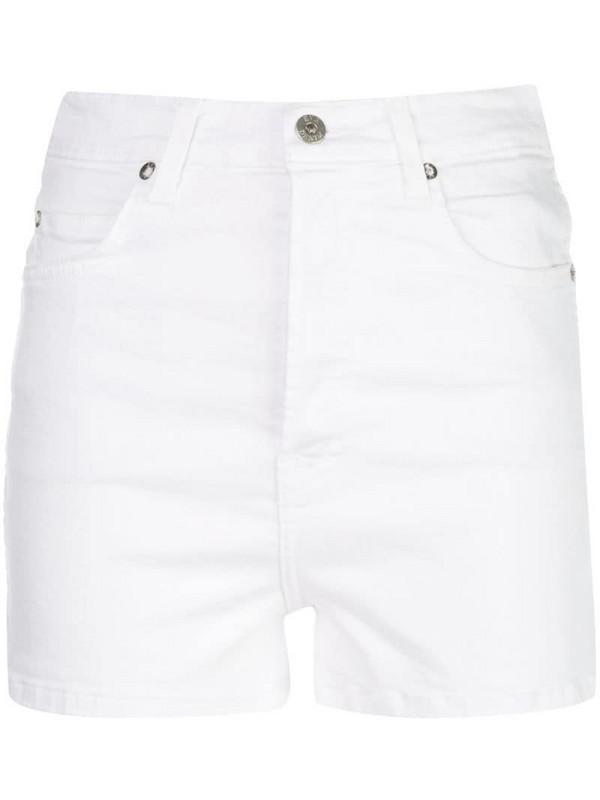 Eve Denim Leo denim shorts in white