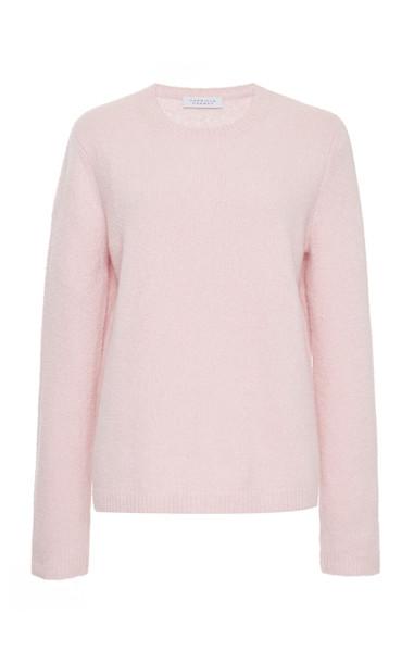 Gabriela Hearst Arcas Cashmere-Silk Blend Sweater Size: XS in pink