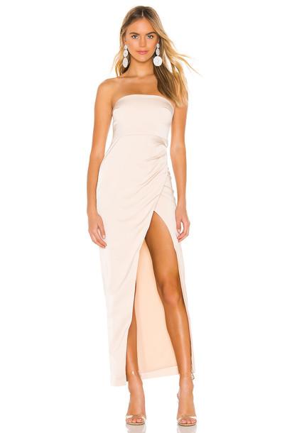 NBD Lucilda Gown in beige
