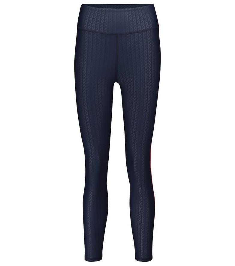 The Upside Liegia Dance stretch-jersey leggings in blue