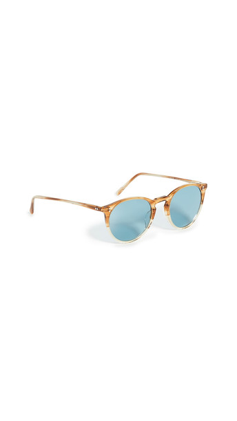 Oliver Peoples Eyewear O'Malley Sunglasses in teal