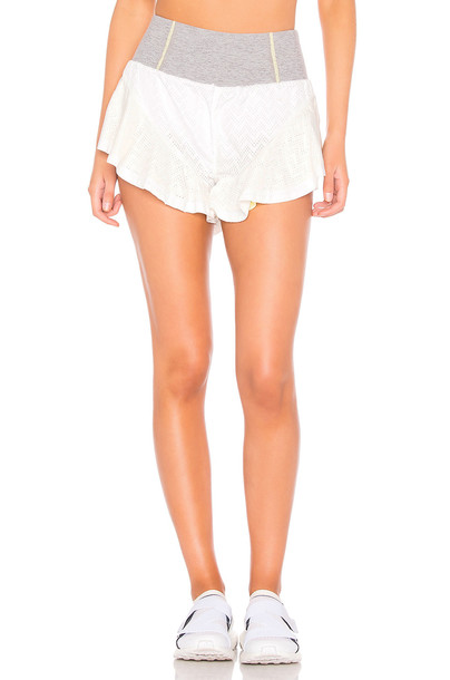 Free People Movement Rain Runner Short in white